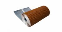 Лента для примыкания гофрированная алюминиевая GRAND LINE кирпичный (5м)