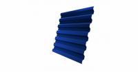 Профнастил С21R 0,4 PE RAL 5005 сигнальный синий