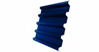 Профнастил H60R 0,5 Satin RAL 5005 сигнальный синий