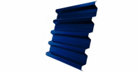 Профнастил H60R 0,7 PE RAL 5005 сигнальный синий DRIP