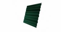 Профнастил С10R Дачный PE RAL 6005 зеленый мох