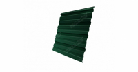 Профнастил С10R 0,45 PE-Double RAL 6005 зеленый мох
