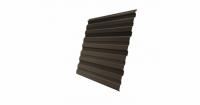 Профнастил С10R 0,45 PE RR 32 темно-коричневый