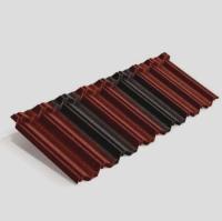 Панель Classic Metrotile красно-черный