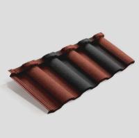 Панель Roman Metrotile красно-черный
