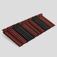 Панель Shake2 Metrotile красно-черный