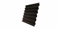 Профнастил С21R 0,45 Drap RR 32 темно-коричневый