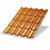 Металлочерепица МП Трамонтана-M (AGNETA-20-Copper\Copper-0.5)