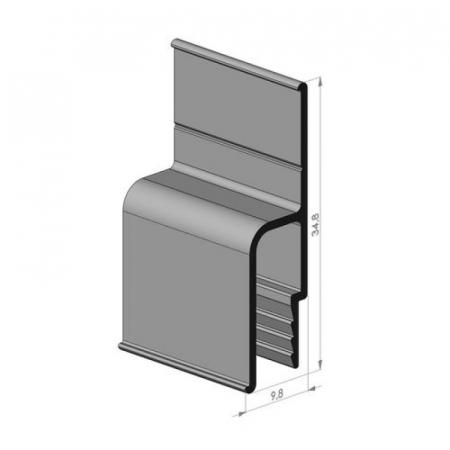 Алюминиевый профиль для потолков
