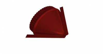 Заглушка конусная Velur20 RAL 3011 коричнево-красный
