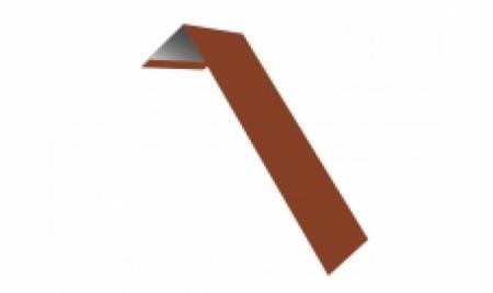 Планка ветровая(лобовая) LINKOR 150 мм 0,45 мм L=2 м RAL 8004