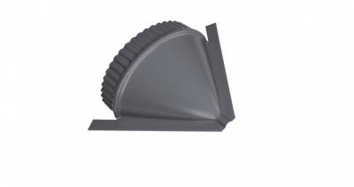 Заглушка конусная PE RAL 7004 сигнальный серый