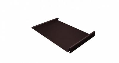 Кликфальц 0,45 PE с пленкой на замках RAL 8017 шоколад
