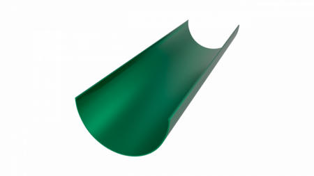 Желоб водосточный LINKOR 120мм L=3 м (алюминий толщина 1,2 мм)RAL 6005