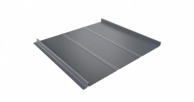 Кликфальц Профи 0,45 PE с пленкой на замках RAL 9006 бело-алюминиевый