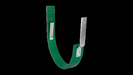 Кронштейн крепления желоба LINKOR 120 мм-L=158 мм (сталь 5 мм) RAL 6005