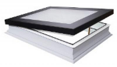 Окно для плоских крыш FAKRO DEF-D U6 80*80
