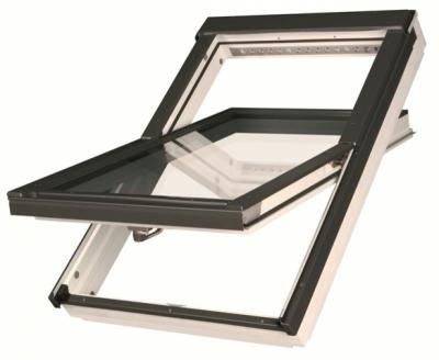Окно мансардное FAKRO влагостойкое, полиуретановый лак 94*140 FTU -V U3