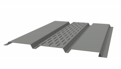 Алюминиевые софиты LINKOR L=2,4 м панель RAL 9003