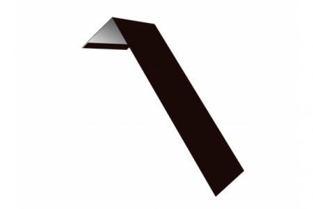 Планка ветровая(лобовая) LINKOR 150 мм  0,45 мм L=2 м RAL 8019