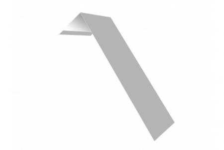 Планка ветровая(лобовая) LINKOR 150 мм 0,45 мм L=2 м RAL 9003