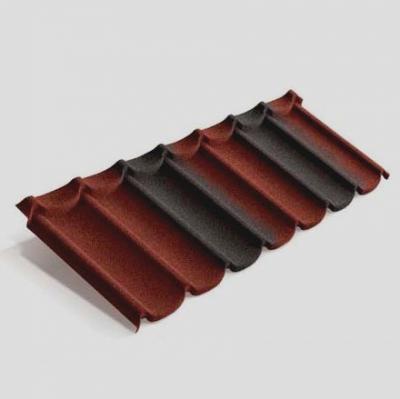 Панель Mistral Metrotile красно-черный