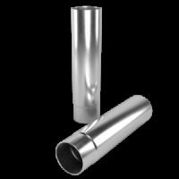 Соединитель колен LINKOR Ø 100мм –L=1 м (алюминий толщина 1,2 мм)