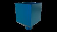 Воронка водосборная LINKOR Ø 100мм (255,5-ш/220-в) (алюминий толщина 1,2 мм)RAL 5005