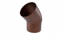 Колено трубы LINKOR 45 ⁰ (алюминий толщина 2 мм)