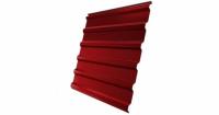 Профнастил С20R 0,45 PE RAL 3003 рубиново-красный