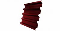 Профнастил H60R 0,5 Satin RAL 3011 коричнево-красный