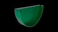 Заглушка желоба LINKOR 120мм типоразмеры) (алюминий толщина 1,2 мм)RAL 6005