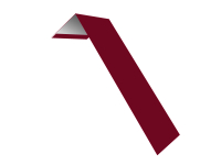 Планка ветровая(лобовая) LINKOR 150 мм 0,45 мм L=2 м RAL 3003