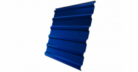 Профнастил С20R Дачный PE RAL 5005 сигнальный синий