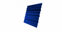Профнастил С10R 0,45 PE RAL 5005 сигнальный синий