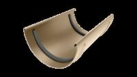 Соединитель желоба LINKOR 120мм (алюминий толщина 2 мм) RAL 1015