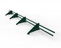 Снегозадержатель  для м/ч оцинкованный 3 м 4 опоры