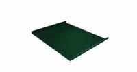Фальц двойной стоячий 0,45 PE с пленкой на замках RAL 6005 зеленый мох