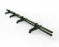 Снегозадержатель D-Bork для м/ч оцинкованный 3 м 4 опоры RAL 6020