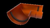Угол желоба LINKOR 90⁰ 120мм (алюминий толщина 1,2 мм) RAL 8004