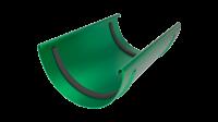 Соединитель желоба LINKOR  120мм (алюминий толщина 2 мм) RAL 6020