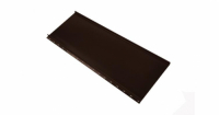 Кликфальц mini 0,45 PE с пленкой на замках RAL 8017 шоколад
