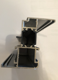 Алюминиевый витраж серия 65 (теплый) 7370*2935
