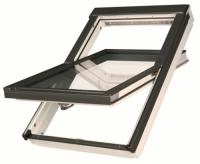 Окно мансардное FAKRO влагостойкое, полиуретановый лак 55*78 FTU -V U3
