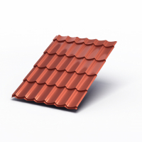 Металлочерепица МП Супермонтеррей (AGNETA-03-Copper\Copper-0.5