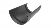 Соединитель желоба LINKOR  120мм (алюминий толщина 2 мм) RAL 7024