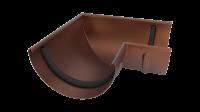 Угол желоба LINKOR 90⁰ 120мм (алюминий толщина 1,2 мм) RAL 8017