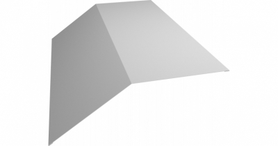 Планка конька плоского 145х145 0,55 Zn